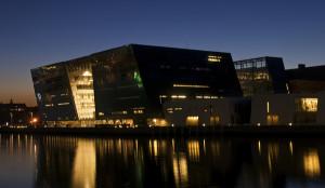 Prédio da Biblioteca Real da Dinamarca