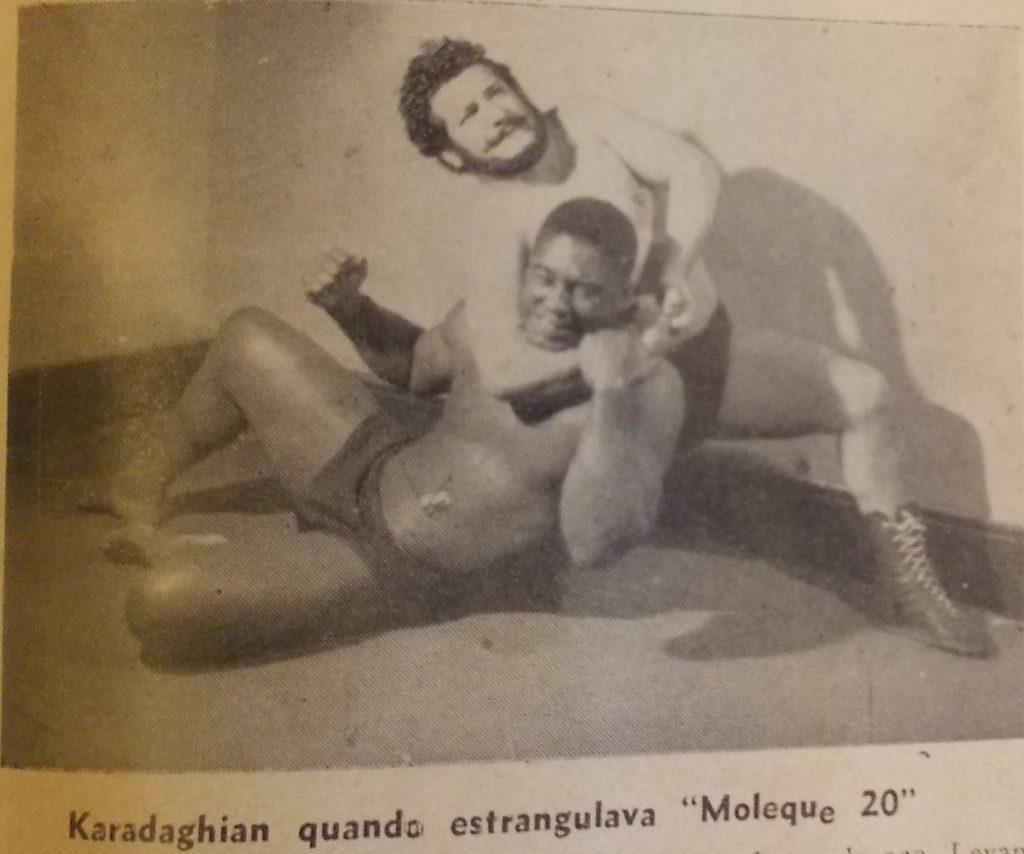 """O armênio-argentino apelidado de """"Touro Armênio"""""""