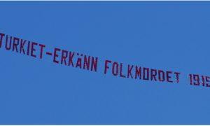 Armênios, Estocolmo, genocide, mensagem, aérea