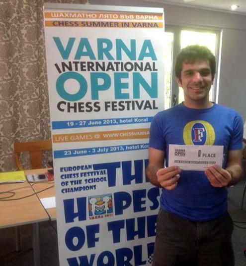 Krikor Sevag Mekhiratian, Xadrez, Brasil, Armênia, Varna, Bulgária