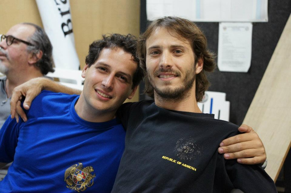 Onnig, Marcelo e Armen