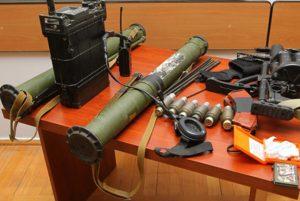 Armamento apreendido pelo exército de Artsakh
