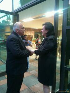 Kevork Zadikian do CNA-Brasil é recebido pela Ministra da Diáspora Hranouch