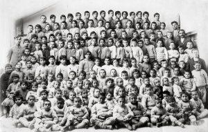Orfãos armênios em 1918