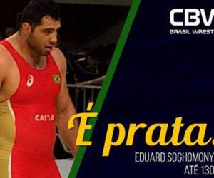 Eduard Soghomonyan garante a prata para o Brasil em Sassari (Itália)