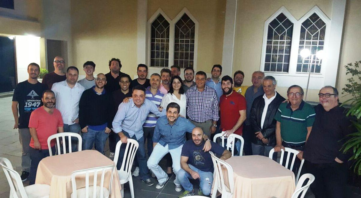 Comunidade Armênia de Osasco , Tashnagtsutiun e SAMA - Clube Armênio em confraternização no lançamento do projeto dos Jogos Navasartian 2016 - Córdoba - Argentina