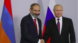 Novo primeiro-ministro armênio diz a Putin que quer laços mais próximos com a Rússia