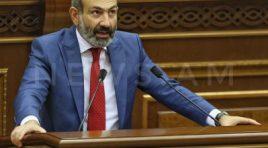 Pashinyan: não podemos nos preparar para a paz se o Azerbaijão estiver se preparando para a guerra