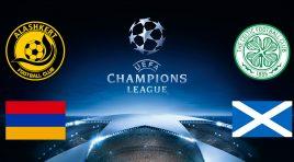 Alashkert enfrentará o Celtic na fase preliminar da Champions League