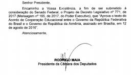 Câmara aprova acordo de cooperação educacional entre Brasil e Armênia
