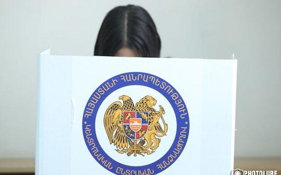 Mayoral elections in Yerevan, Armenia